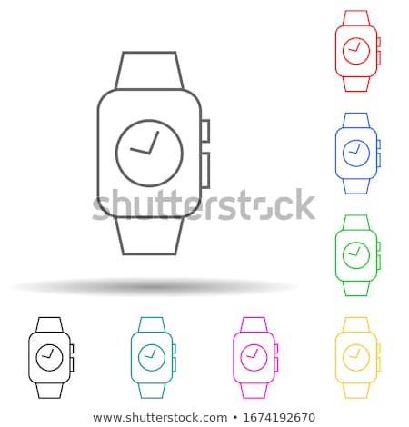 батареи · фиолетовый · вектора · икона · дизайна · цифровой - Сток-фото © rizwanali3d