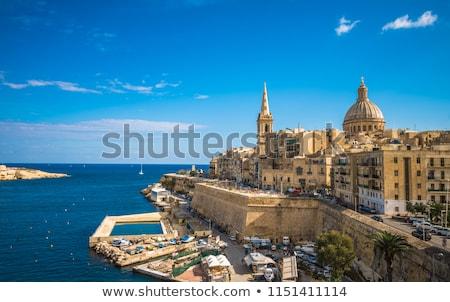 harbor in La Valletta, Malta Stock photo © meinzahn
