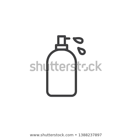 A pump-style lotion bottle Stock photo © bluering