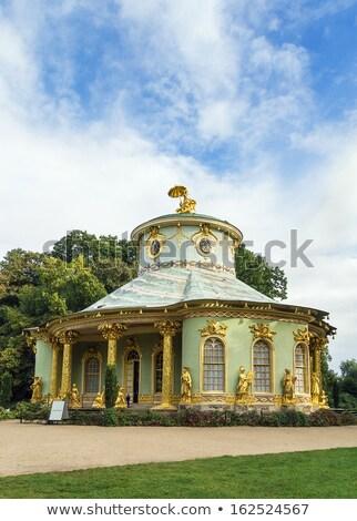 китайский дома Германия саду парка здании Сток-фото © borisb17
