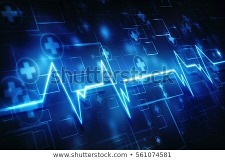 Кардио сердцебиение медицинской здравоохранения дизайна врач Сток-фото © SArts