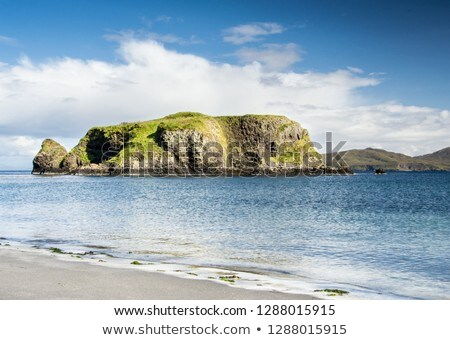 small isles at scotlands coast Stock photo © gewoldi