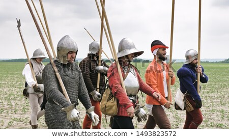 Man dressed as a knight Stock photo © photography33