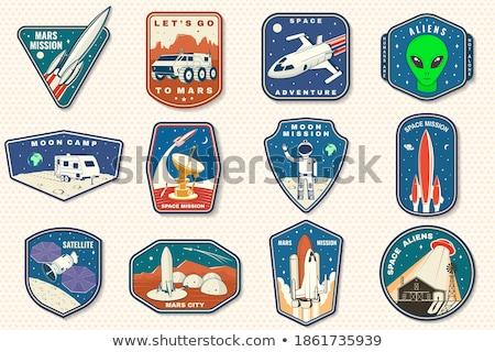 Space stamps   Set I Stock photo © sahua