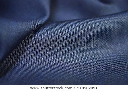blue fabric close up Stock photo © taden
