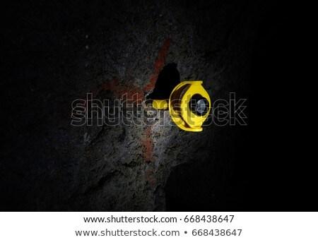 鉱山 調査 技術 緑 帽子 ストックフォト © Vividrange