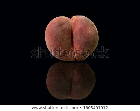 персика черный довольно молодые брюнетка черное белье Сток-фото © disorderly
