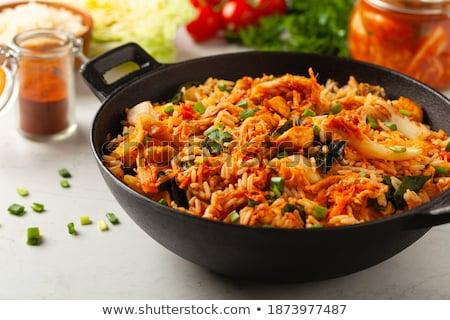 preparing a stir fry stock photo © digifoodstock