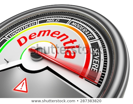 A Brain Condition on White Background Stock photo © bluering