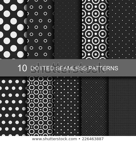 Polka dot abstract seamless pattern on a dark background Stock photo © Imaagio