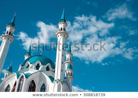 Qolsarif Mosque, Kazan Stock photo © borisb17