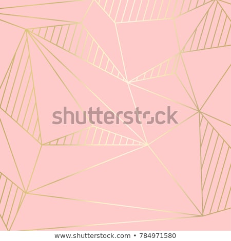 glowing abstract geometric lines in curve style stock photo © sarts