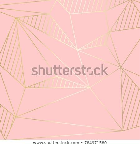Abstract geometrica linee curva stile Foto d'archivio © SArts