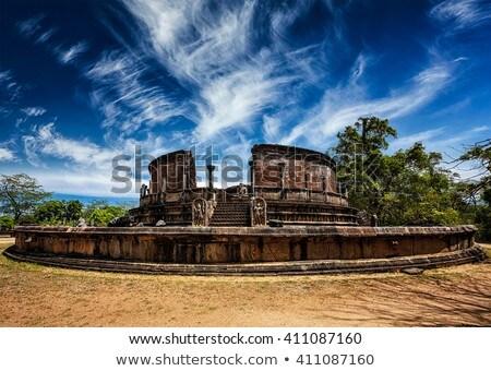 ősi buddhista Sri Lanka klasszikus retro hipszter Stock fotó © dmitry_rukhlenko