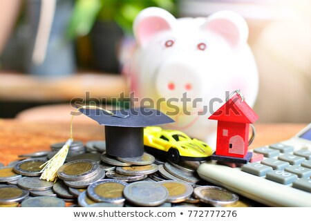 Home schuld bureau abstract tabel Stockfoto © goir