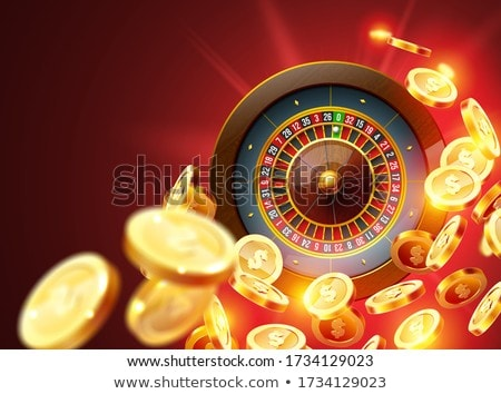 gambling illustration with roulette Stock photo © articular