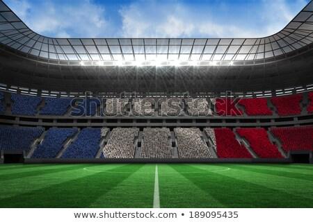 Dijital oluşturulan Fransa bayrak beyaz Stok fotoğraf © wavebreak_media