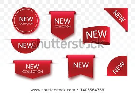 Nagy árengedmény piros vektor ikon terv Stock fotó © rizwanali3d