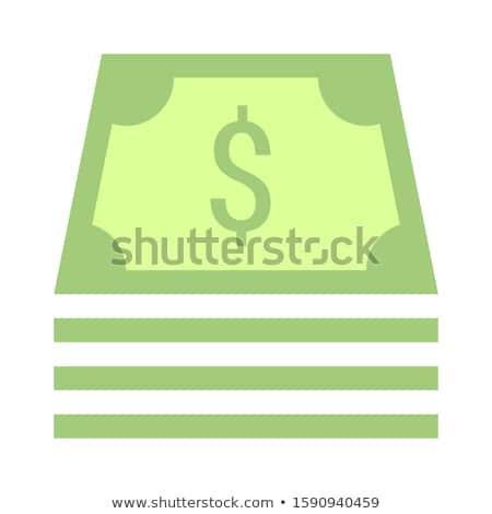 Caixa registradora estoque isolado branco tela financiar Foto stock © konturvid