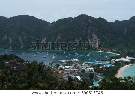Thaiföld kilátás pont Stock fotó © Wetzkaz