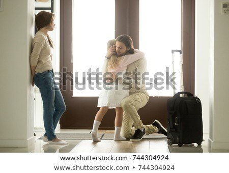 Child Parent Separation Stock photo © Lightsource