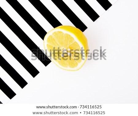 Pop art kunst mode citrus Stockfoto © serdechny