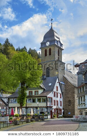 square in Monschau, Germany Stock photo © borisb17