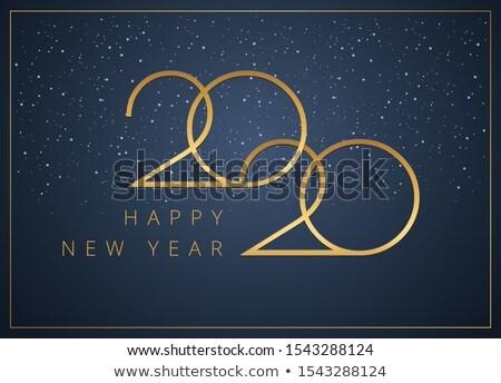 stylish 2020 new year business calendar design template Stock photo © SArts