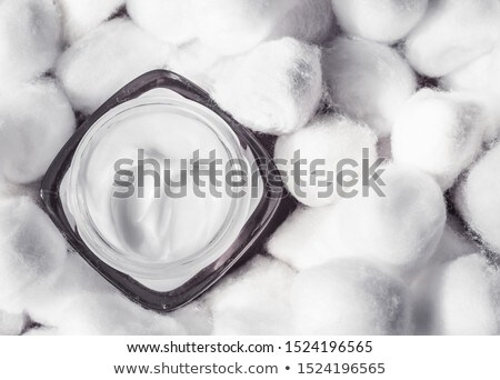 Lujo sensible piel blanco algodón Foto stock © Anneleven