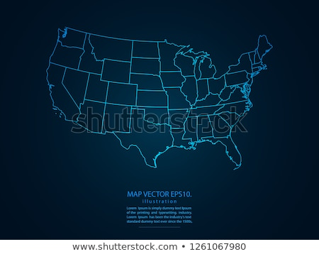 florida   abstract state map stock photo © iqoncept