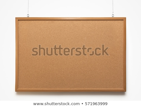 Boletim conselho branco Foto stock © devon
