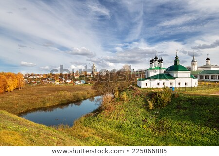nature landscape in Suzdal Stock photo © michey