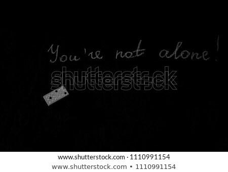 one dominoes loneliness Stock photo © jarp17