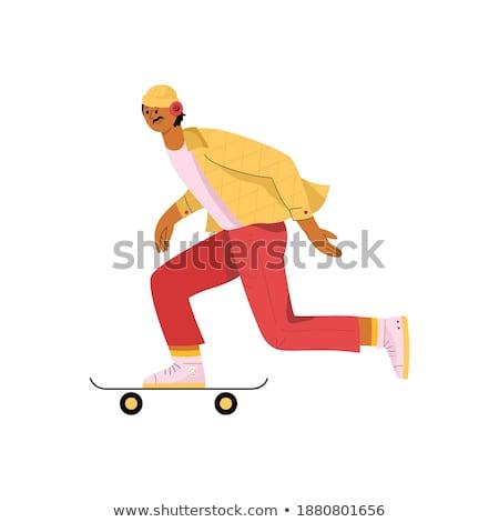 Skateboarding Around Stock photo © ArenaCreative