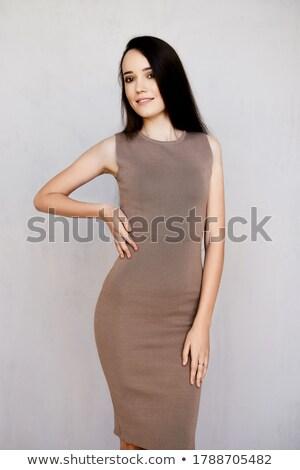 Slender model Stock photo © Novic