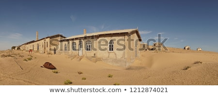 Namibia pared abandonado casa ciudad muerta ventana Foto stock © dirkr