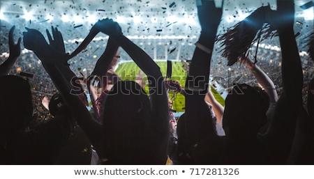Football supporter Stock photo © gemenacom
