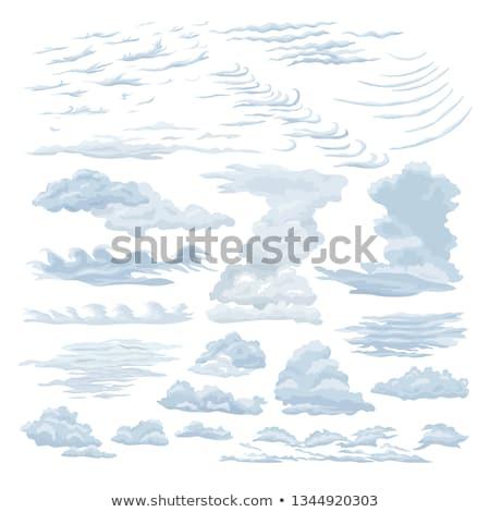 Detail of cirrus cloud Stock photo © Juhku