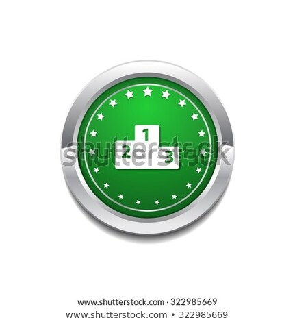 Punteggio bordo vettore icona pulsante Foto d'archivio © rizwanali3d