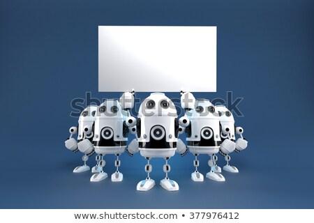 grup · robot · mekanik · teknoloji · iş - stok fotoğraf © kirill_m