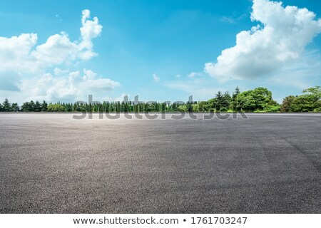 green asphalt stock photo © dmitroza