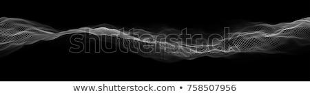 аннотация частицы волна цифровой стиль технологий Сток-фото © SArts