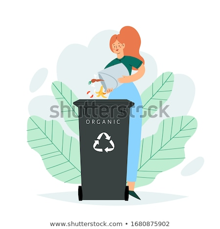 Green Dumpster Stock photo © BrandonSeidel