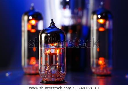 eletrônico · rádio · tubo · velho · cinza · televisão - foto stock © devon