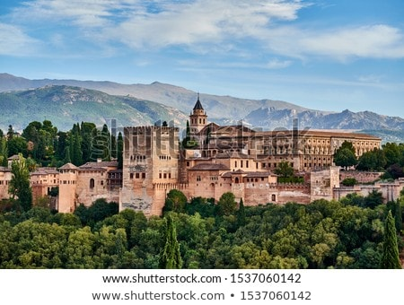 fortress of Alhambra, Spain Stock photo © neirfy