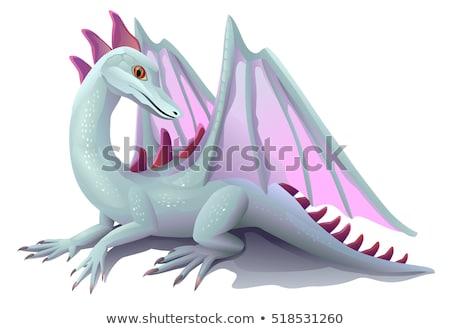 cômico · bonitinho · monstro · vetor · ilustração · ícone - foto stock © bluering