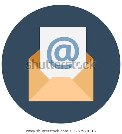 Foto d'archivio: Envelope With Email Sign