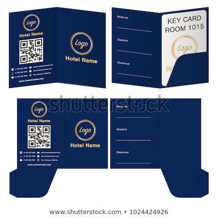 Card holders Stock photo © montego