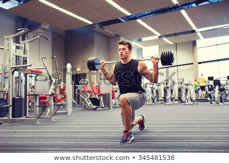 Young Man Working Out Biceps Stock photo © Jasminko