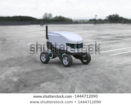 Robot delivery service Stock photo © jossdiim